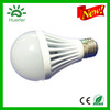 High quality new design 100-240v 85-265v cheap price white aluminum 5w 9w 7w e27 led bulb e27 7w