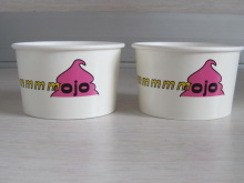 Custom Logo Printed Cold/Ice cream/Food/Cola Disposable Paper Cup