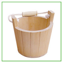 high quality unfinished wooden buckets for sale