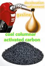Activated carbon as diesel decoloration agent