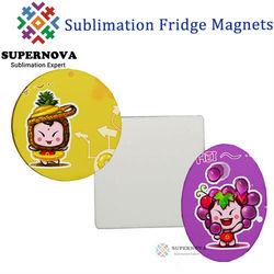 Blank Sublimation Fridge Magnet ,Printable Fridge Magnet
