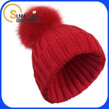 fashion women warm wholesale wool custom women knitted winter hats