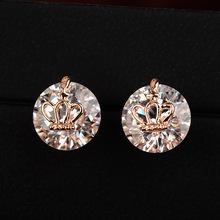 Italina Crown AAA zircon fashoin earring,Women earring,fast selling earring