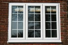 LG brand PVC/UPVC side hung window with grills,PVC/UPVC windows and doors