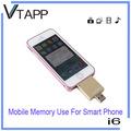vtapp 2014 de alta calidad nueva y 32g impulsión del flash del usb de alta velocidad con cerradura de tarjeta de memoria
