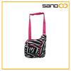 2014 zebra print fashion travel bag cross body bag