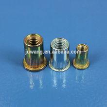 China metal manufacturer rivet screw with cap