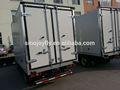 De refrigeración del cuerpo del carro/carrocería con aislamiento térmico frío caja. Transporte de carne refrigerada del cuerpo del carro