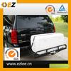 aluminium folding semi car carrier trailer