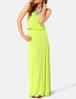 Hot selling sleeveless jersey maxi dress
