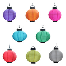 Mixture colors chinese festival paper craft lantern for promotion