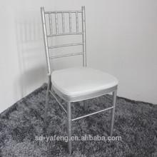 Wholesale Metal wedding chiavari chair with cushions