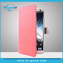 Free Sample !!! Fashion Mobile Phone Wallet Cover,Leather Flip Open Case For iPhone 4/4S(Pink)