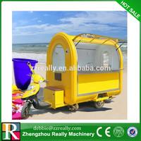 Good Popular Gasoline Cargo Tricycle Food Cart