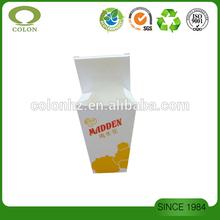 Paper takeaway box for popcorn fried chicken