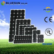 Bluesun high quality monocrystalline sun power solar panel 250w with CE TUV UL certificate