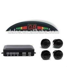 Colorful Car Reverse parking sensor / LED parking sensor system / 4 sensors parking aid