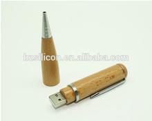 Wooden usb pen, cheap custom wooden pen usb stick