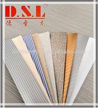 hot sale 25 mm flower-design color aluminum slats for window shades