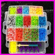 children gift wristbands loom ,diy loom kit, 3 layers loom kit box