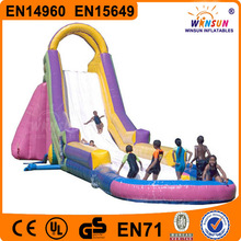 New design giant EN14960 cheap inflatable water slides for sale