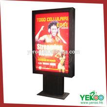 Ground standing advertising rotating images light box light frame 2014