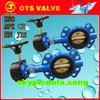 "BV-DS100 API/JIS/KS 3"" 10"" 12"" worm gear butterfly oil valve"