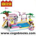 cogo juguete bloque de natación de la piscina fabricantes chinos de juguetes