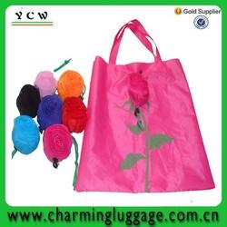 rose foldable cute shop bags