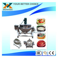 Jam and dessert's cooker with mixer