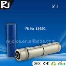 RJ M11 telescope 18650 battery vv mod vaporizer pen