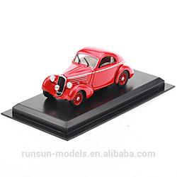 L4053 die cast Fiat 508 Balila 1936 classic model car