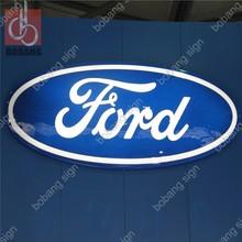 Customized Luminous sign led car signboard