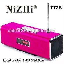 2012 Newest speaker for iphone/ipod/Mini speaker TT2B