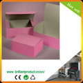 Kleine rosa einfache Set-up bäckerei konditorei box-verpackung