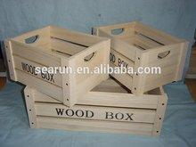 Wholesale Cheap Wood Boxes for Fruit Vegetables