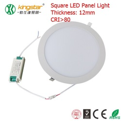 6w round led panel light white color led ceiling light with cheap price led panel light