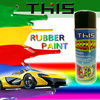 450ml Clear plastic coating spray peelable rubber spray paint car