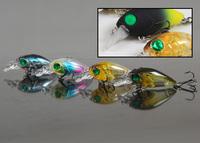 New color plastic artificial fishing lure fishing bait wholesale crank fishing lures 3.5 g 3.5 cm Mini Crank DW24