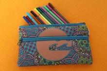 office & school stationery neoprene pencil case