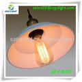 Rústico iluminação lustre de iluminação interior/2014 pingente de luz com lâmpada de edison