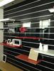 Wall decor high gloss slatwall board