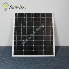 Monocrystalline 50 Watt Solar Panel