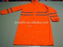 industrial rain Jacket polyester long raincoat