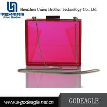 Hot china products wholesale Handmade luxurious beautiful acrylic box clutch