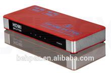Full HD 1080P HDMI RCA 1.4 HDMI Splitter 1x4