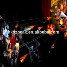 6 dof Plc high technology!!! 4d 5d 6d 7d amusement park equipment childre game motion simulator with laser shooting
