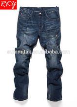 Branded Mens Jeans For Young Mens Wholesale Mens Jeans Side Pocket Denim Jeans Pant 214-338