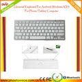 المحرز في الصين عالمية legoo قرص كمبيوتر المحمول الهاتف بلوتوث اللاسلكية لوحة المفاتيح لباد أبل/ سامسونجالموافقة/ النوافذ/ الروبوت