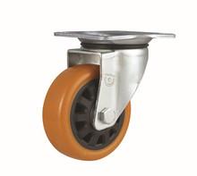 Heavy duty Plastic core PU Caster wheel